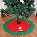 povoljno Božićni ukrasi-1pcs božićno drvce suknja tepih 90cm ukras za pregače kuće novogodišnji ukras