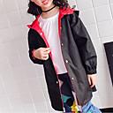 povoljno Jakne i kaputi za djevojčice-Djeca Djevojčice Osnovni Print Jakna i kaput Crn