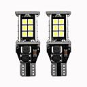 זול אורות בלימה-2 יחידות t15 w16w 921 912 סופר מבריק 3030 24 smd led canbus ללא שגיאה גיבוי רכב אורות מילואים מנורת זנב