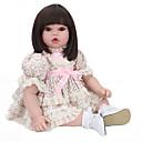 halpa Reborn Dolls-NPK DOLL Reborn Dolls Reborn Toddler Doll Poikavauvat Tyttövauvat 22 inch Turvallisuus Gift Sievä Lasten Unisex / Tyttöjen Lelut Lahja