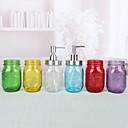 זול Soap Dispensers-כלי לסבון עיצוב חדש / מגניב מודרני זכוכית 1pc מותקן על הקיר