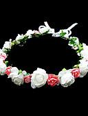 preiswerte Kleider für die Blumenmädchen-Krystall / Stoff / Papier Tiaras / Blumen mit 1 Hochzeit / Besondere Anlässe / Party / Abend Kopfschmuck