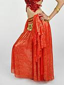 hesapli Göbek Dansı Giysileri-Göbek Dansı Etek Kadın's Performans Şifon Düşük Etek