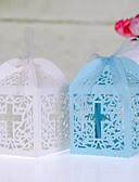 preiswerte Gastgeschenk Boxen & Verpackungen-kubisch Perlenpapier Geschenke Halter mit Bänder Geschenkboxen