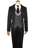 hesapli Korseler-Esinlenen Black Butler Sebastian Michaelis Anime Cosplay Kostümleri Cosplay Takımları Solid Uzun Kollu Yelek / Gömlek / Pantalonlar Uyumluluk Erkek / Kadın's