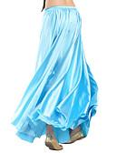 ieftine Ținută Dans din Buric-Dans din Buric Fustă Pentru femei Antrenament Satin Natural Fustă / Sală de bal