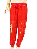 hesapli Göbek Dansı Giysileri-Göbek Dansı Alt Giyimler Kadın's Eğitim Şifon Payet Pantalonlar / Balo Salonu