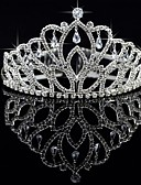 cheap Wedding Dresses-Crystal / Fabric / Alloy Tiaras with 1 Wedding / Special Occasion / Party / Evening Headpiece