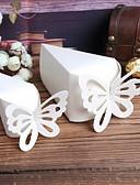 זול הינומות חתונה-פרמידה יצירתי נייר כרטיסים מחזיק לטובת עם דוגמא קופסאות קישוט