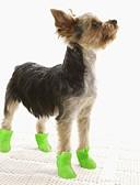 abordables Sombreros de mujer-Gato Perro Zapatos y Botas Jelly Shoes Suela antideslizante A Prueba de Agua Un Color Negro Morado Amarillo Azul Rosa Para mascotas