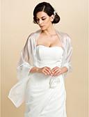 Χαμηλού Κόστους Φορέματα για παρανυφάκια-Τούλι Γάμου / Πάρτι / Βράδυ / Causal Αναδιπλώνει Γάμου / Σάλια / Γυναικείες εσάρμπες Με Σε επίπεδα Σάλια