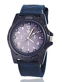 baratos Relógio Elegante-Homens Relógio Militar Relógio de Pulso Quartzo Preta / Azul / Verde Relógio Casual Analógico Amuleto - Preto Verde Azul marinho Um ano Ciclo de Vida da Bateria / Jinli 377