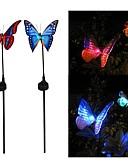 abordables Relojes Deportivo-Luz de grama LED LED Recargable / Decorativa 2pcs