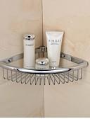 hesapli Gelin Şalları-Banyo Rafı Yüksek kalite Çağdaş Pirinç 1 parça - Otel banyo
