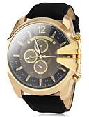 preiswerte Militäruhr-V6 Herrn Militäruhr / Armbanduhr Armbanduhren für den Alltag PU Band Charme Schwarz / Braun / Grün / Zwei jahr / Mitsubishi LR626