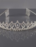 cheap Sport Watches-Alloy Tiaras / Headwear with Floral 1pc Wedding / Special Occasion Headpiece