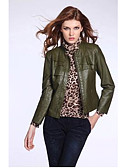 cheap Women's Outerwear-Women's Punk & Gothic Coat - Solid Colored