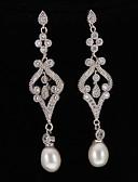 ieftine Rochii de Mireasă-Perle - Clasic Argintiu Pentru Petrecere