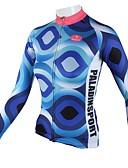 ieftine Lenjerie & Șosete de Bărbați-ILPALADINO Pentru femei Manșon Lung Jerseu Cycling Bicicletă Jerseu, Uscare rapidă, Respirabil