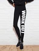 preiswerte Hosen & Röcke für Damen-Damen Bedruckt Legging - Reaktiver Druck Hoch