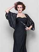 cheap Bridesmaid Dresses-Chiffon Wedding / Party Evening / Casual Women's Wrap With Draping Coats / Jackets