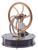 baratos Roupas Íntimas e Meias Masculinas-LJKGDQ Motor Stirling Miniatura de Motor Kits de Ciência & Exploração Diversão Alumínio Crianças Para Meninos Para Meninas Brinquedos Dom