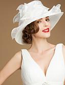 preiswerte Kleider für die Hochzeitsfeier-Organza Hüte mit Schärpe / Band 1 Hochzeit / Besondere Anlässe / Normal Kopfschmuck