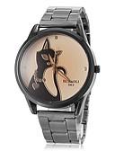 baratos Relógios da Moda-Mulheres Relógio de Pulso Relógio Casual / / PU Banda Fashion / Relógio Elegante Marrom