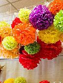 abordables Soportes para Regalo-Decoración de Papel Tisú Material Mixto Decoraciones de la boda Boda / Fiesta / Fiesta de Boda Tema Floral / Tema Clásico Todas las Temporadas