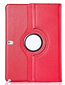 זול מארז Samsung-מגן עבור Samsung Galaxy Tab 4 10.1 מסתובב360מעלות / עם מעמד / נפתח-נסגר כיסוי מלא אחיד עור PU