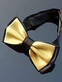 olcso Férfi nyakkendők és csokornyakkendők-Férfi Egyszínű Poliészter, Party Munkahelyi - Csokornyakkendő