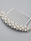 preiswerte Hochzeitsschleier-Künstliche Perle / Strass / Aleación Haarkämme mit 1 Hochzeit / Besondere Anlässe / Normal Kopfschmuck