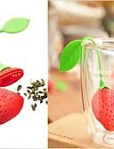 halpa Naisten hupparit ja neuleet-uusi piin mansikan suunnittelu tee -lehden siivilä 1pc, keittiökaluste