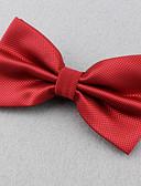 olcso Férfi nyakkendők és csokornyakkendők-Uniszex Egyszínű Poliészter, Party Munkahelyi Alap - Csokornyakkendő