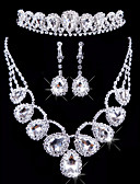 cheap Wedding Veils-Women's Others Jewelry Set Earrings / Necklace / Tiaras - Regular For Wedding / Party / Special Occasion