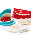 billige Bluse-sæt af 3 plast dejen press støber dumpling maker køkken værktøj gadget