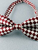 cheap Men's Ties & Bow Ties-Men's Party Work Basic Polyester Bow Tie - Plaid