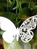 preiswerte Hochzeitskleider-Perlenpapier Tischkarten Klammer 10