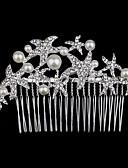 preiswerte Parykopfbedeckungen-Krystall / Strass / Stoff Tiaras mit 1 Hochzeit / Besondere Anlässe / Party / Abend Kopfschmuck