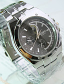 preiswerte Herrenuhren-Herrn Armbanduhr Armbanduhren für den Alltag Edelstahl Band Charme / Kleideruhr Silber / SSUO 377