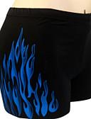 رخيصةأون ملابس سباحة رجالي-L XL XXL ستايل رسمي / طباعة لون الصلبة, ملابس السباحة قطع تحتية أحمر أزرق زهري كلاسيكي & خالد مكعبات الألوان رجالي
