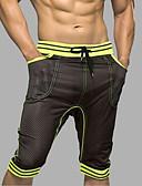 ieftine Pantaloni Bărbați si Pantaloni Scurți-Bărbați Dungi - Super Sexy Boxeri Plasă 1 Bucată