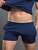 baratos Roupas Íntimas e Meias Masculinas-Homens Super Sexy Cueca Boxer Sólido 1 Peça