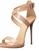 ieftine Rochii NYE-Pentru femei Pantofi Imitație de Piele Primăvară / Vară Toc Stilat Bej / Party & Seară / Party & Seară