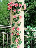hesapli Gece Elbiseleri-Yapay Çiçekler 1 şube Düğün Çiçekleri Güller Masaüstü Çiçeği
