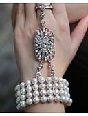 tanie Sukienki-Perła Bransoletki i łańcuszki na rękę - Perła Vintage, Impreza, Praca Bransoletki Na Impreza