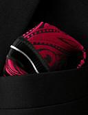 זול עניבות ועניבות פרפר לגברים-ריבועי כיס - פסים פייסלי חוטי זהורית בסיסי מסיבה בסיסי בגדי ריקוד גברים