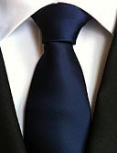 abordables Corbatas y Pajaritas para Hombre-Hombre Poliéster Corbata - Fiesta Trabajo Básico Un Color
