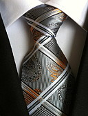cheap Men's Ties & Bow Ties-Men's Party / Work / Basic Polyester Necktie - Paisley Print / Cute / Multi-color