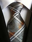 abordables Corbatas y Pajaritas para Hombre-Hombre Estampado, Poliéster Corbata - Fiesta Trabajo Básico